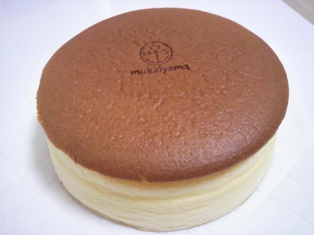 向山製作所桑野ファクトリーのチーズケーキ
