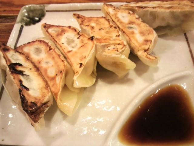 麺家くさびの焼き餃子
