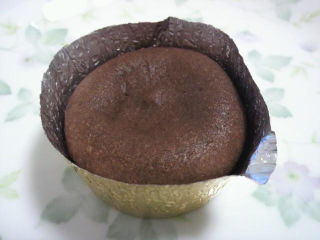 郡山生チョコケーキの中身