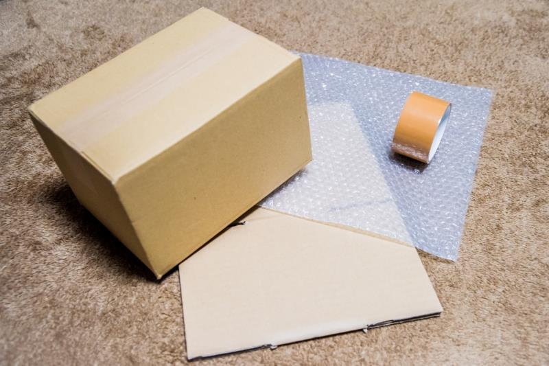 引っ越しで必要な梱包材(ダンボール箱など)