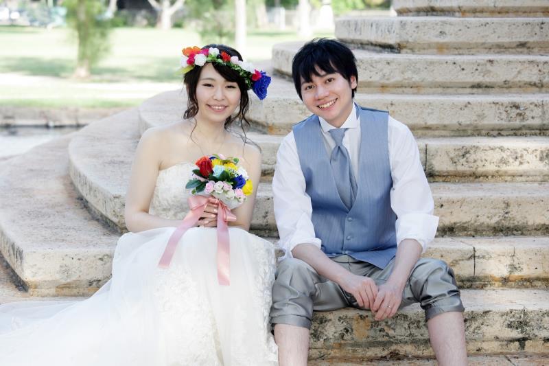 ツヴァイで出会い、無事に結婚式を迎えた2人