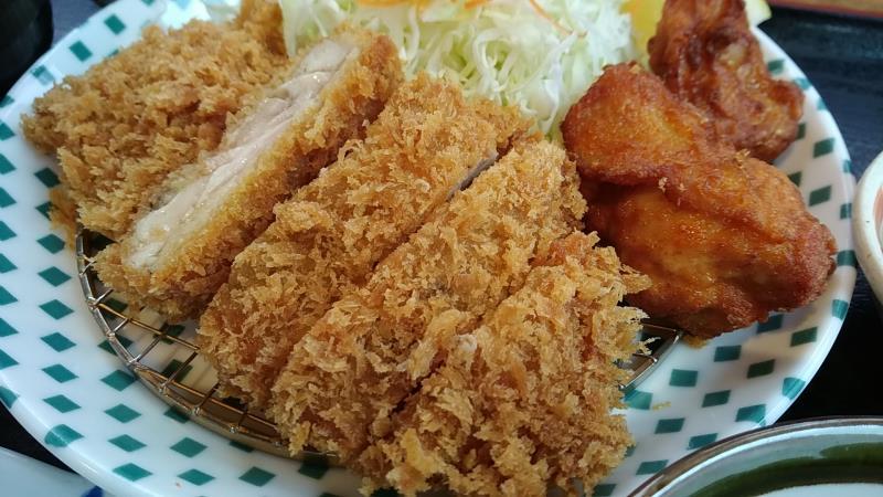 カツ亭の「チキン&唐揚げ」