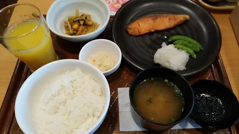 ガストの焼魚定食