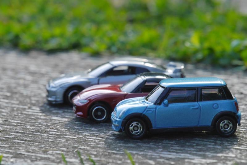 自動車保険に加入している複数台の車