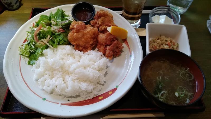 カイセイのBプレート「ラーメンダレの鶏唐揚げ」