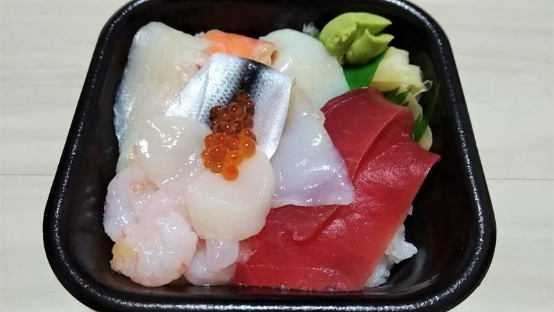 丼丸魚魚魚郡山店の海鮮丼