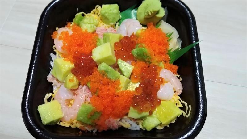 丼丸魚魚魚郡山店のカリフォルニア丼