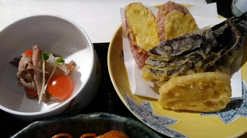 鉄心和膳の天ぷら