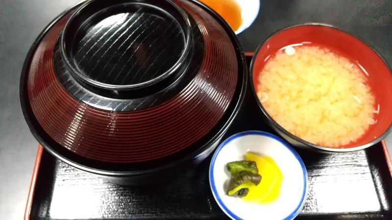 柏屋食堂の名代ソースカツ丼