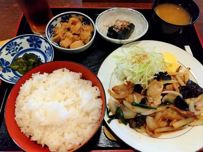 夢一膳の「豚生姜焼き定食」
