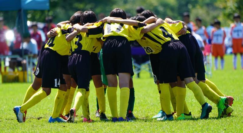 サッカースクールの子ども達