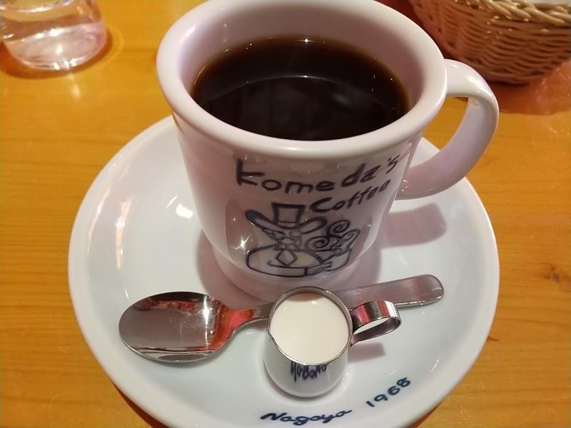 コメダ珈琲店のコーヒー「コメダブレンド」