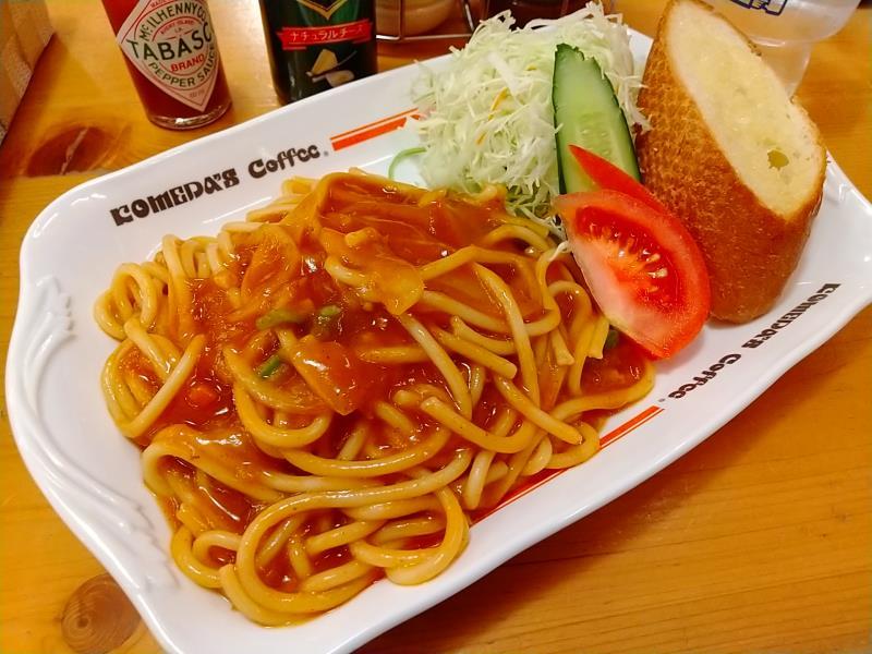 コメダ珈琲店の「名古屋名物あんかけスパ」