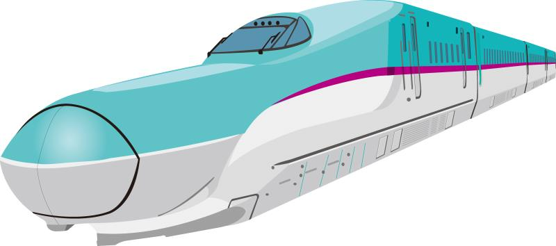 新幹線のイラスト