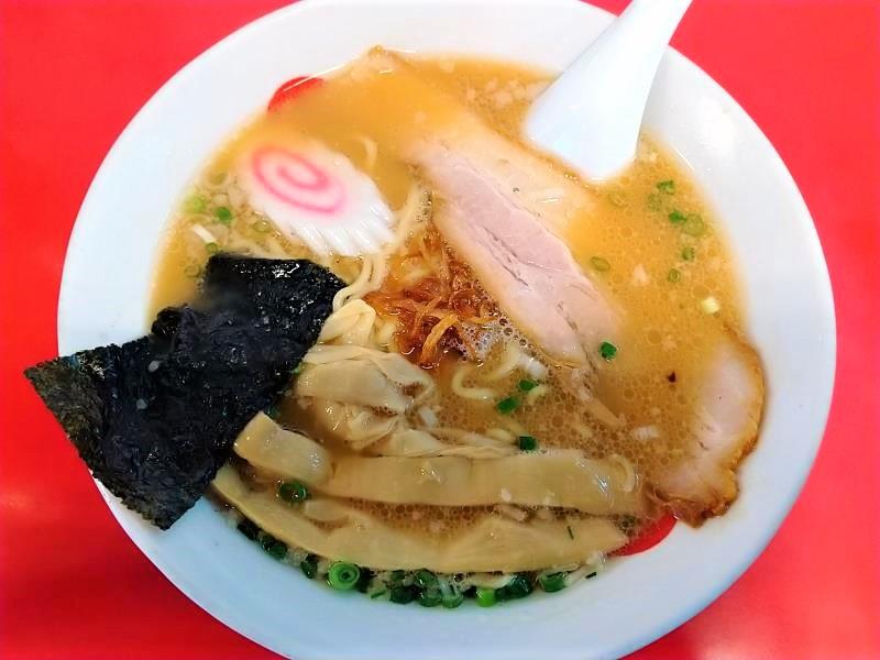 日和田製麺所の「特製醤油 中華そば」