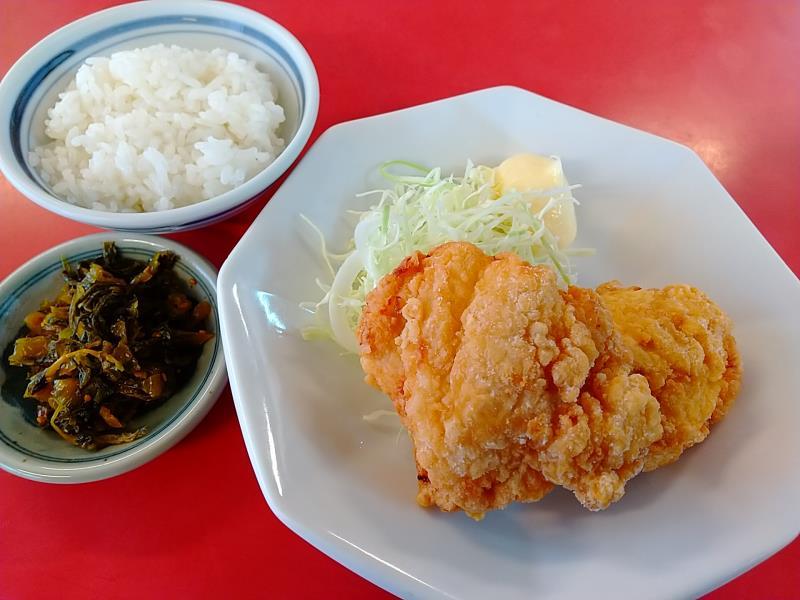 日和田製麺所のからあげ(プレーン)
